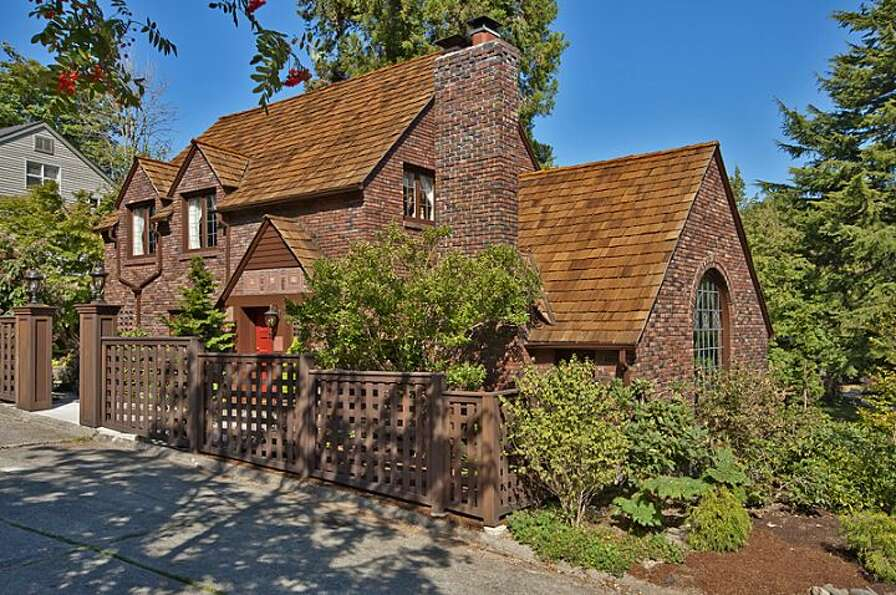 Here's your chance to own a 1930 Denny Blaine brick Tudor designed by renowned Seattle architect Pau