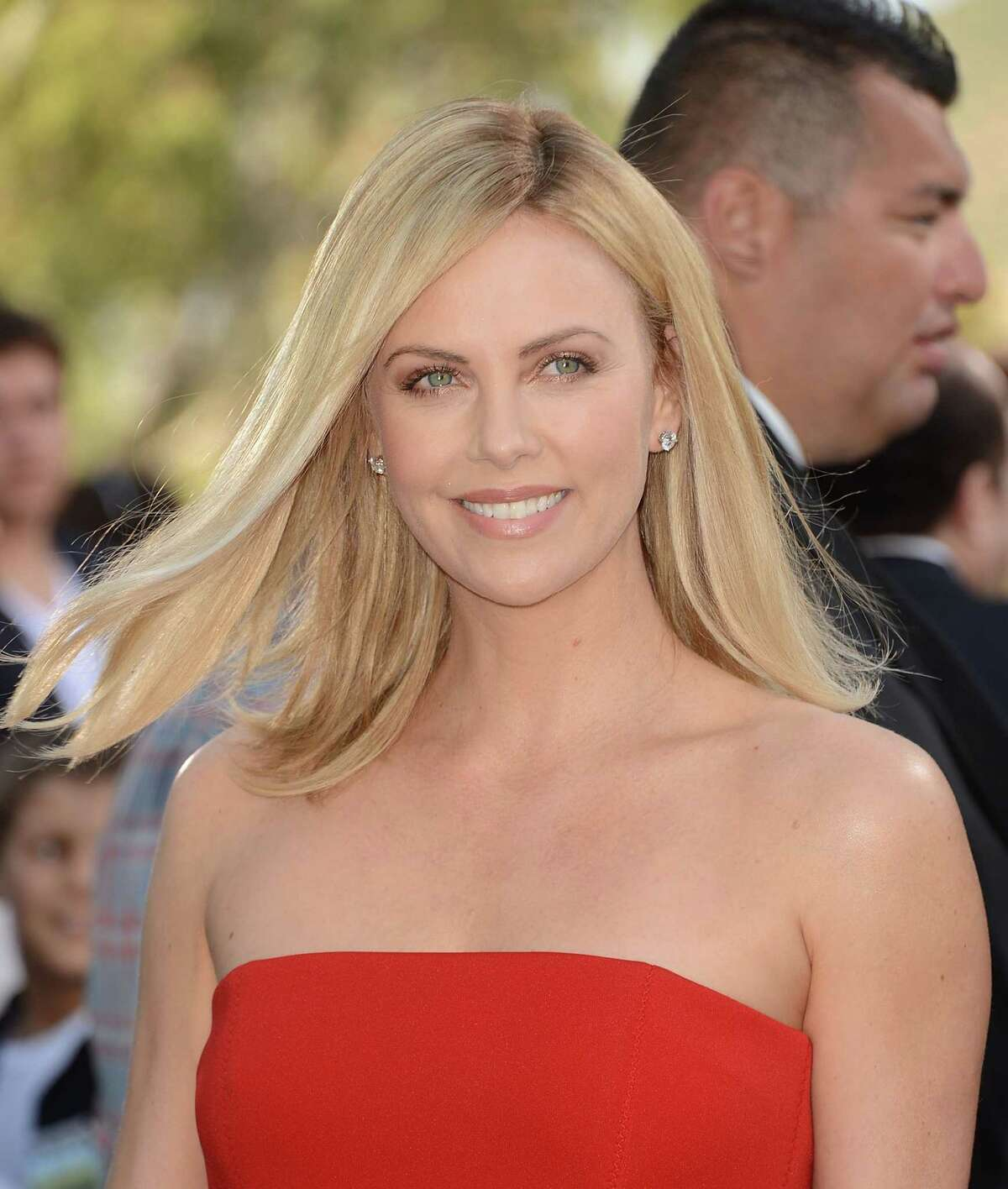 """Actress Charlize Theron gained 30 pounds and wore prosthetic teeth for role as serial killer Aileen Wuornos in 2003's """"Monster."""" She won an Oscar for the performance."""