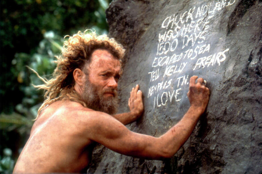 """Cast Away"" Tom Hanks. Photo: SFC"