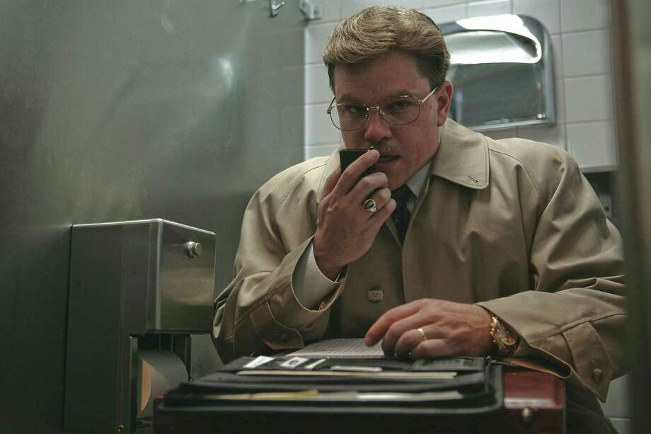 "A plumper Matt Damon in ""The Informant!"" Photo: Claudette Barius, AP / Warner Bros."