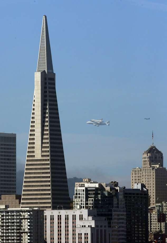 The Transamerica Pyramid in San Francisco. Photo: Carlos Avila Gonzalez, The Chronicle