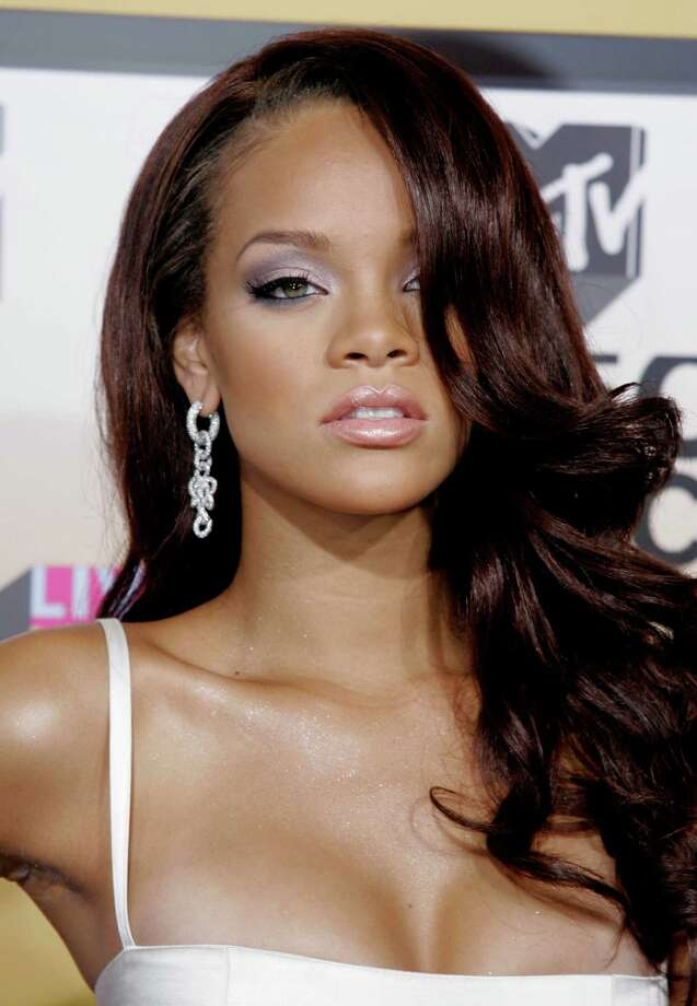 Rihanna's nude photos hit the web in 2009, at the height of her popularity.  Photo: Peter Morgan, Associated Press / AP