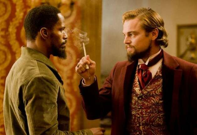 "Quentin Tarantino follows ""Inglourious Basterds"" with ""Django Unchained,"" another period piece, featuring Jamie Foxx and Leonardo DiCaprio. It's in theaters Dec. 25."