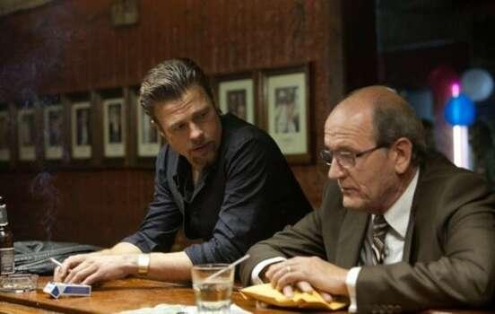 """Killing Them Softly"" stars Richard Jenkins, Ray Liotta and Brad Pitt. It opens in theaters Nov. 30."
