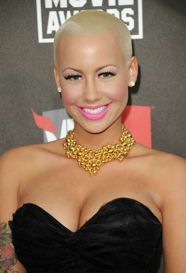 Amber Rose's nude photos leaked in 2011. Photo: Jason Merritt, Getty Images / Getty Images North America