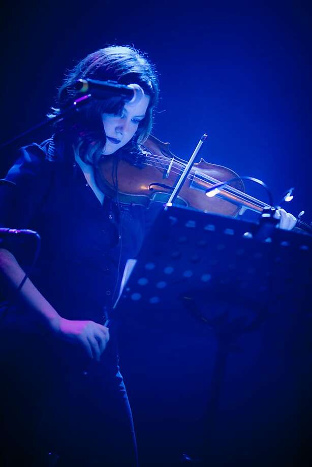 Violinist and vocalist Dina Maccabee  will serve as guest music director for the evening of eclectic Bay Area artists covering the 10 songs from Joni Mitchell's soul-baring 1971 album. Photo: Jason Mongue