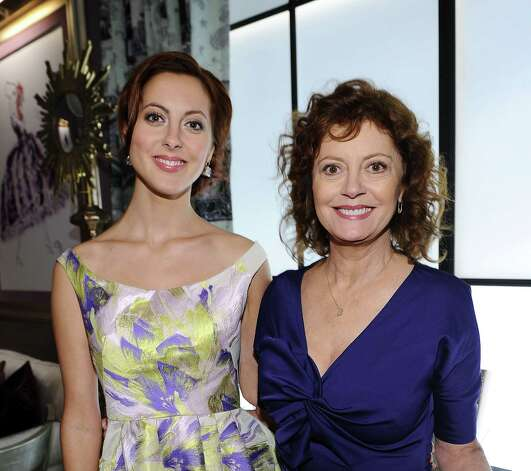 Eva Amurri poses with her mom, Susan Sarandon.  (Michael Buckner / 2011 Getty Images) Photo: Michael Buckner, Getty Images For Mercedes-Benz F / 2011 Getty Images