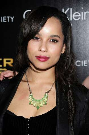 "Zoe Kravitz most recently appeared in 2011's ""X-Men: First Class,"" and she fronts the rock band Elevator Fight. Photo: Dimitrios Kambouris, Getty Images / 2012 Getty Images"