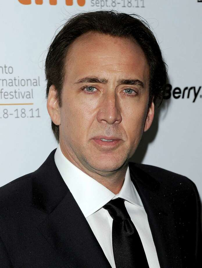 Weston's famous dad? Actor Nicolas Cage. Photo: Jason Merritt, Getty Images / 2011 Getty Images