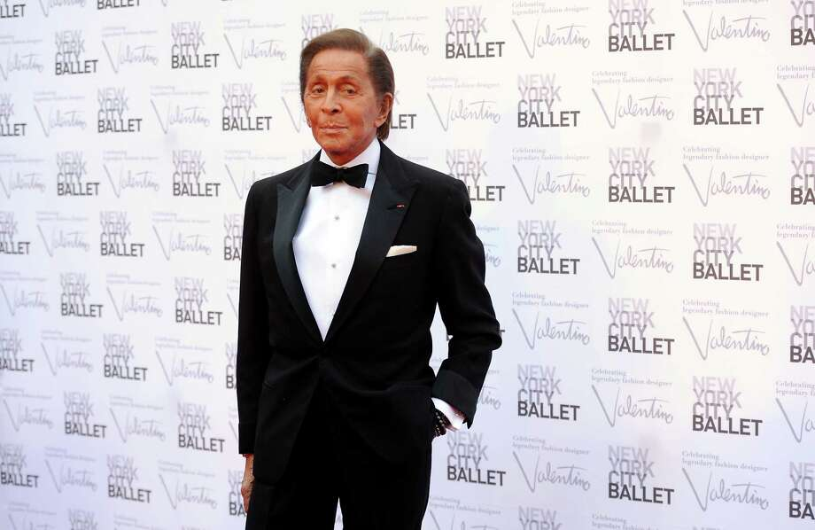 Fashion designer Valentino Garavani arrives at the New York City Ballet Fall Gala at Lincoln Center on Thursday, Sept. 20, 2012 in New York. For this one night only Valentino will create costumes for three ballets. (Photo by Evan Agostini/Invision/AP Images) Photo: Evan Agostini