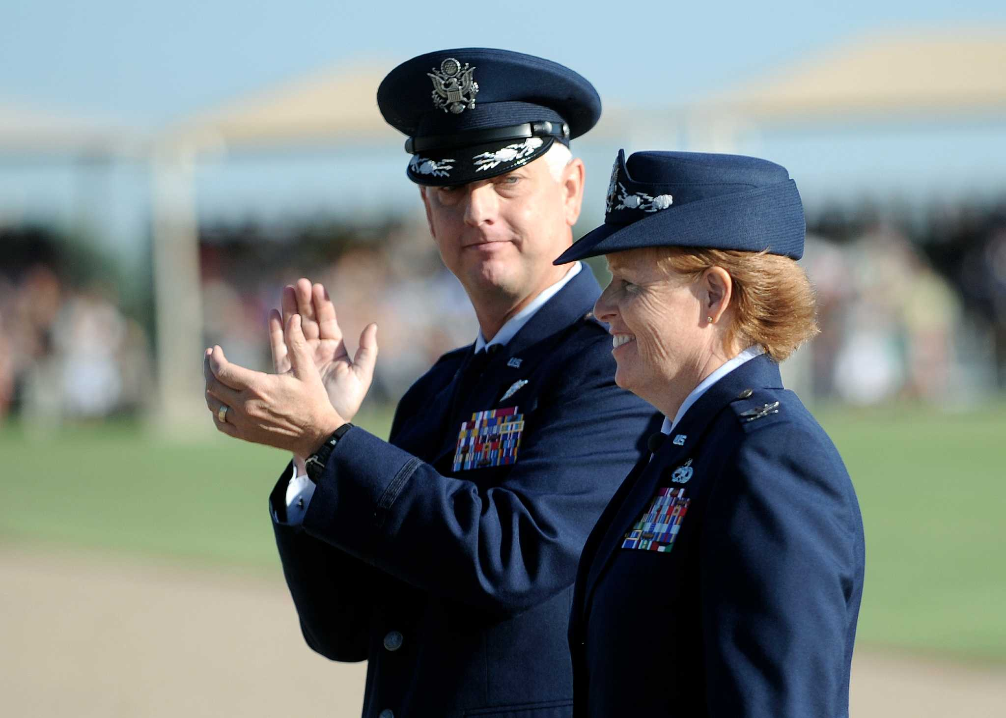 Woman now heads AF training at Lackland - San Antonio