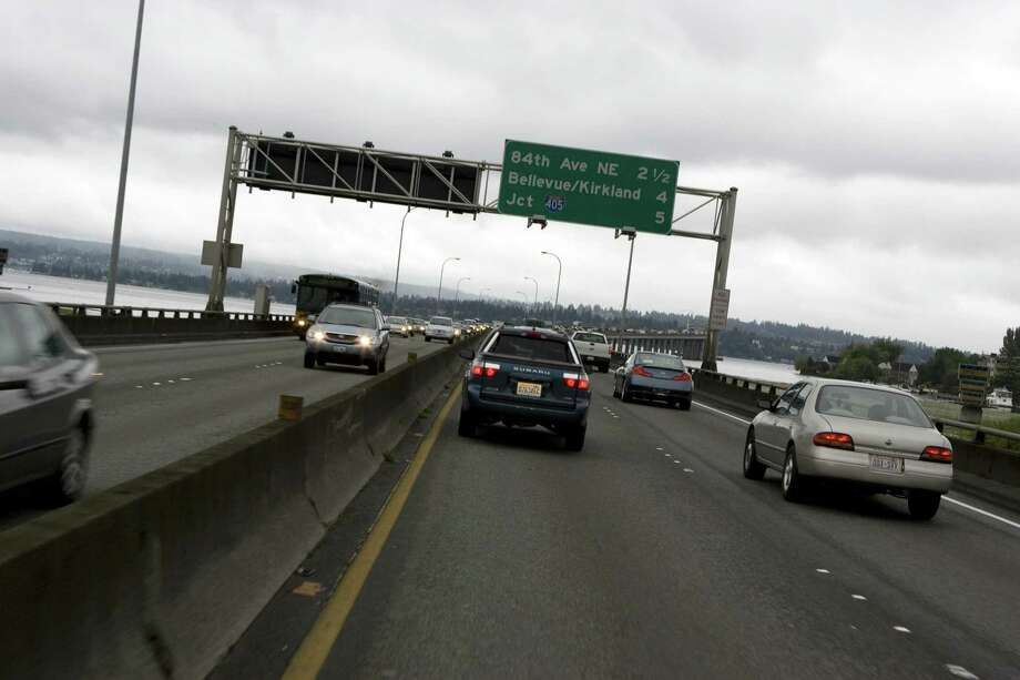 King County: King County residents drove a whole minute longer each way than the state average at 26 minutes, 30 seconds. Photo: Kevin Casey, - / 2007 Getty Images