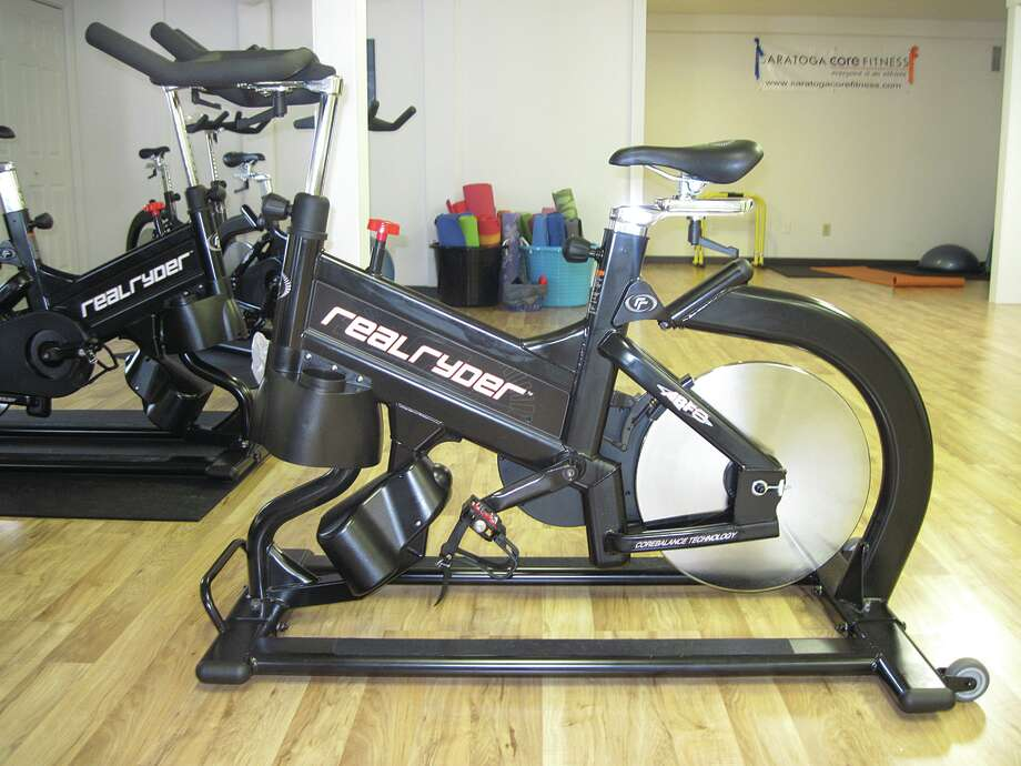 Real Ryder spin bikes at Saratoga Core Fitness in Saratoga, NY (Carin Lane/Times Union)