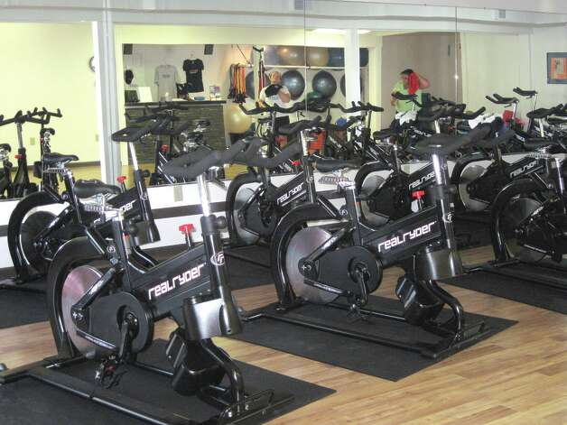 Real Ryder spin bikes at Saratoga Core Fitness, Saratoga, NY. (Carin Lane/Times Union)