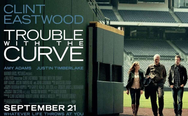 """Trouble With the Curve,"" starring Clint Eastwood, is playing in area movie theaters. Photo: Contributed Photo / Westport News contributed"