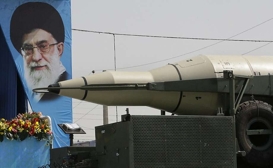 The extent to which Iran's leader, Ayatollah Ali Khamenei, will build up weapons is crucial. Photo: Vahid Salemi, Associated Press