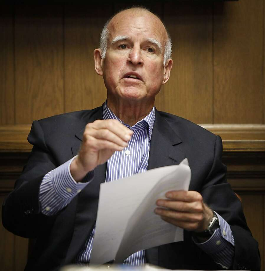 Jerry Brown Photo: Russell Yip, The Chronicle