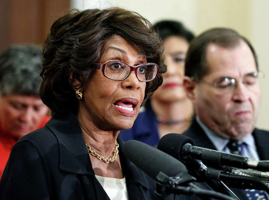 U.S. Rep. Maxine Waters, D-Calif., was under House scrutiny after a bank in which her husband owns stock received a federal bailout. Photo: Manuel Balce Ceneta / AP