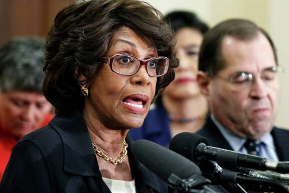 U.S. Rep. Maxine Waters, D-Calif., was under House scrutiny after a bank in which her husband owns stock received a federal bailout.