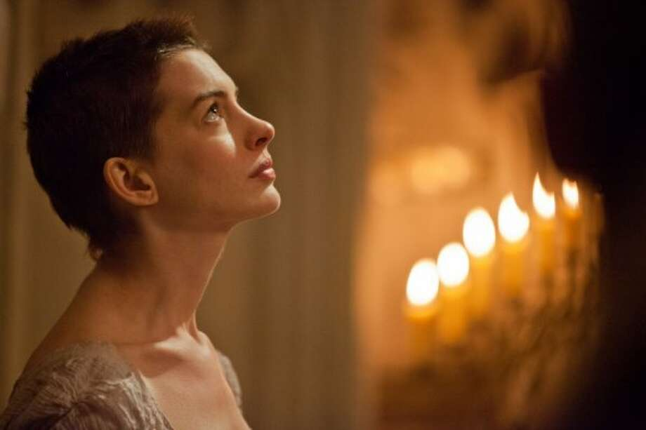 "Anne Hathaway in ""Les Miserables."" (Watchtower Films)"