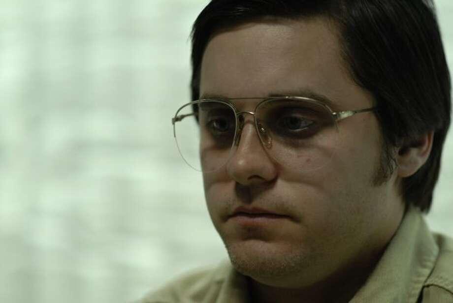 """Jared Leto stars as John Lennon assassin Mark David Chapman in """"Chapter 27."""" (JoJo Whilden / ASSOCIATED PRESS)"""