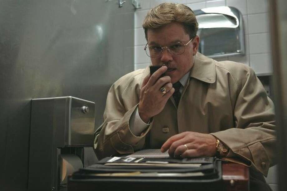 "A plumper Matt Damon in ""The Informant!"" (Claudette Barius / AP)"