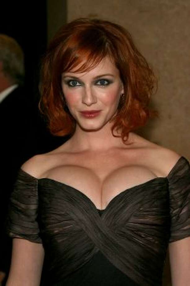 "Before Christina Hendricks, 37, started playing sexy secretary Joan Holloway, she was a model and actress in such shows as ""ER"" and ""Firefly."" Here's Hendricks in 2007.  ( Frazer Harrison / Getty Images)"