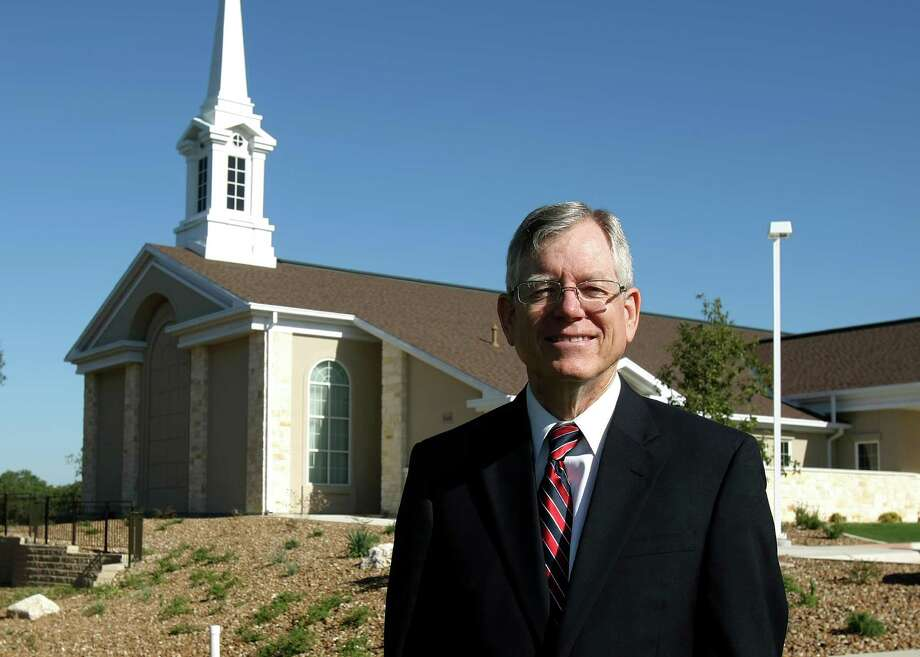 Eric Williams is the bishop of the Alamo Ranch Ward of the Church of Jesus Christ of Latter-day Saints at 3644 Talley Road in west Bexar County. It is the third LDS church to open in the San Antonio area within two years. Photo: Helen L. Montoya, San Antonio Express-News / ©SAN ANTONIO EXPRESS-NEWS
