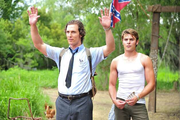 "Matthew McConaughey (left) plays a reporter and Zac Efron his brother in Lee Daniels' ""The Paperboy."" Photo: Millennium Pictures"