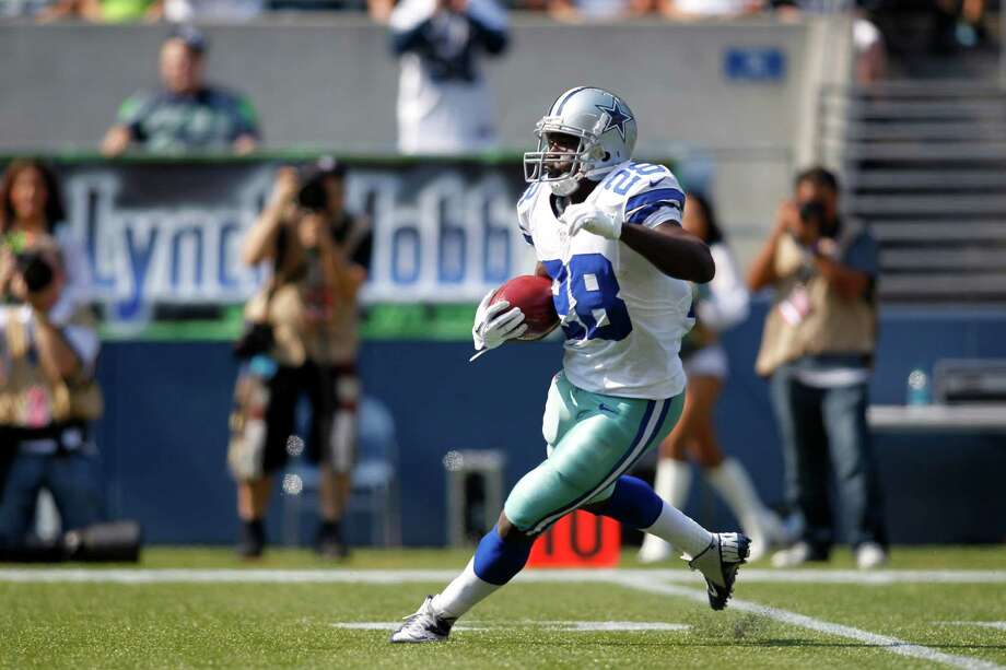 The Cowboys' Felix Jones is averaging 21.3 yards for his eight kickoff returns, with his longest a 29-yarder. Photo: John Froschauer / FR74207 AP
