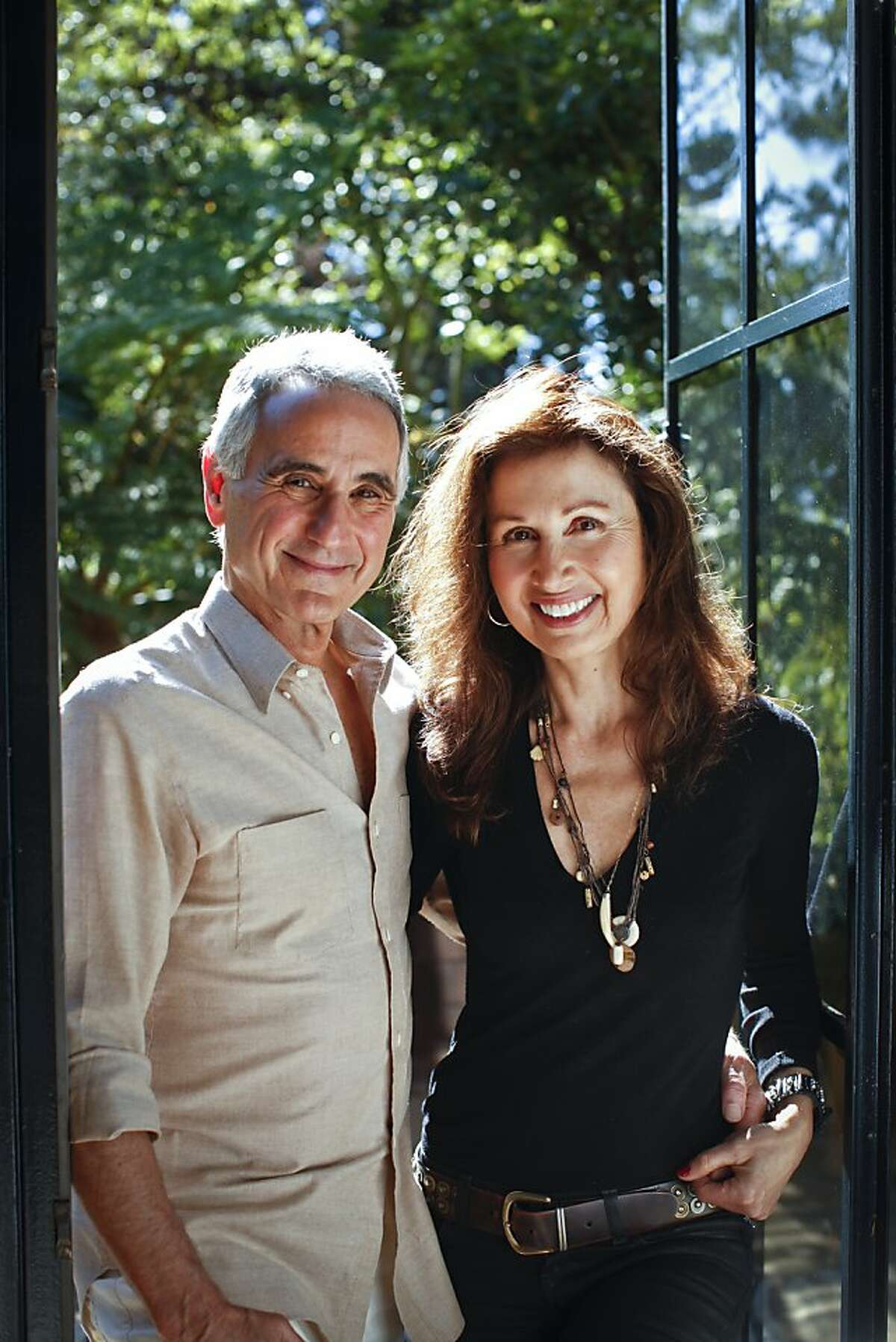 Mel and Patricia Ziegler, the founders of Banana Republic, are seen at their Mill Valley, Calif., home on Thursday, Sep. 7, 2012.