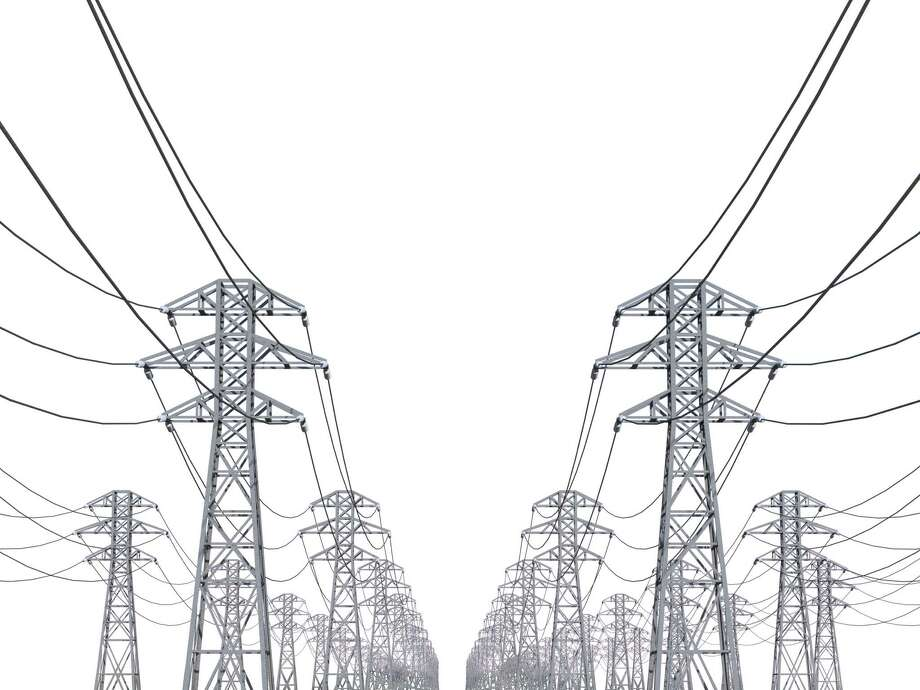 power line on a white background FOTOLIA