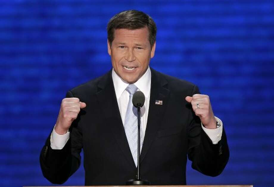 Rep. Connie Mack, R-Fla., addresses the Republican National Convention in Tampa, Fla., on Thursday, Aug. 30, 2012. (J. Scott Applewhite / Associated Press)