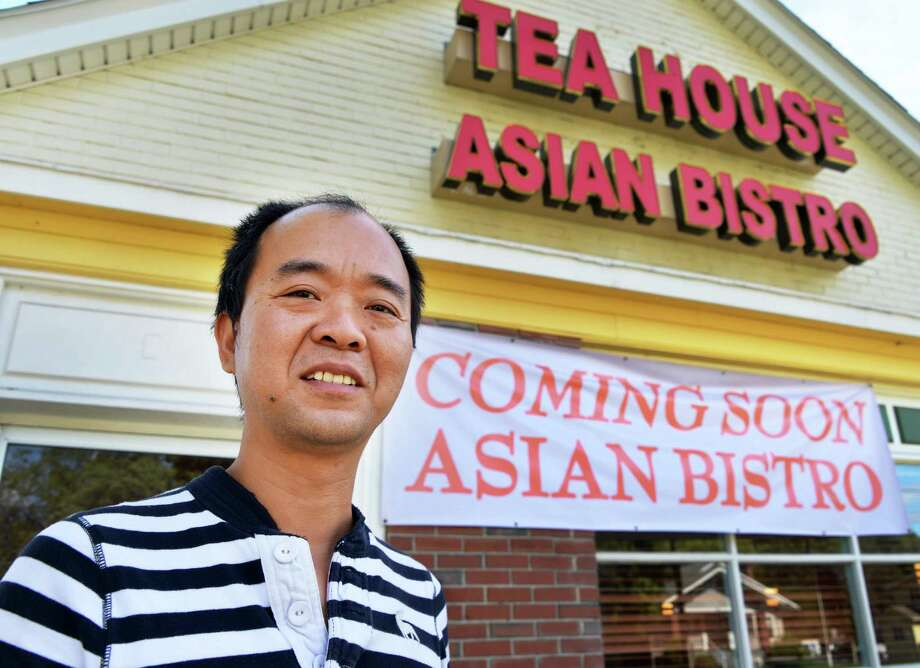 Jim Zheng is converting a former Friendly's into the Tea House Asian Bistro in Delmar Wednesday Sept. 19, 2012.   (John Carl D'Annibale / Times Union) Photo: John Carl D'Annibale / 00019324A