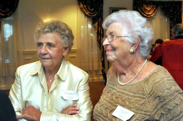 Members of the Danbury High School Class of 1947 attend their 65th reunion  Saturday, Sept. 22, 2012. Photo: Michael Duffy