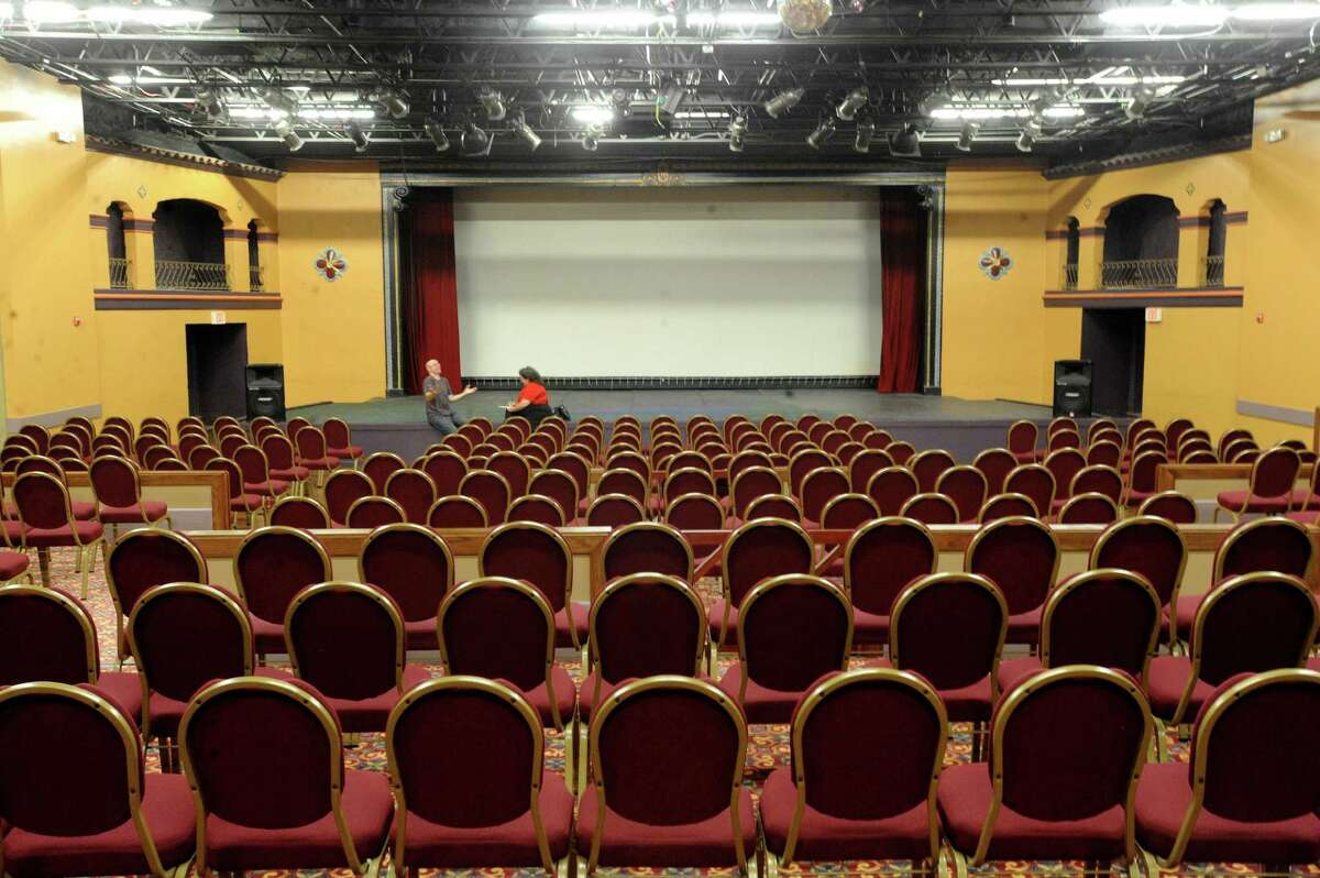The Guadalupe Theater has been renovated.