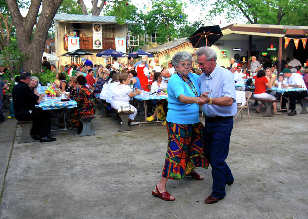 For a little bit of Germany in Southtown, head to the Beethoven Halle und Garten on 422 Perieda St. and put on your dancing shoes. Photo: WILLIAM LUTHER, E-N Archive / SAN ANTONIO EXPRESS-NEWS