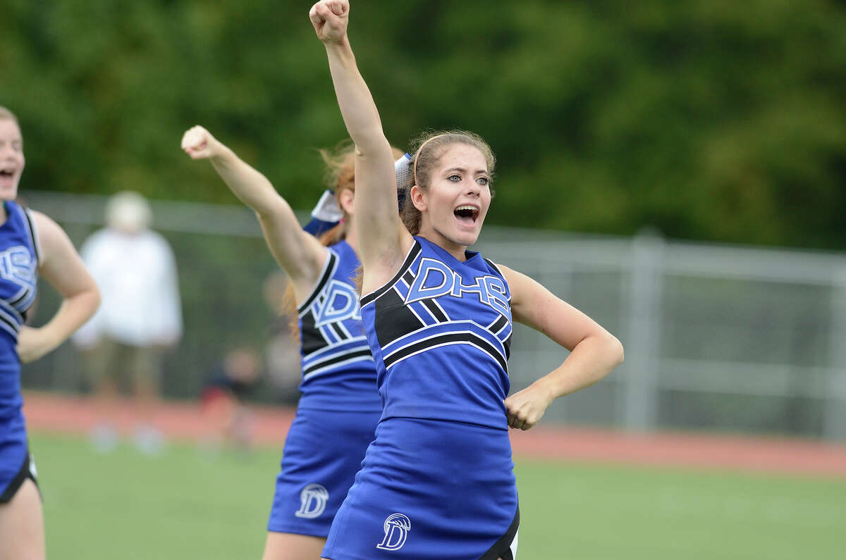 Darien High School hosts Fairfield Warde High School in varsity football in Darien, CT on Sept. 22, 2012.