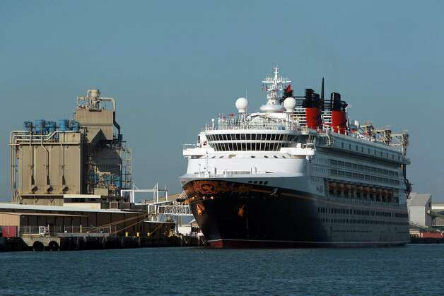 The Disney Magic cruise ship at the Port of Galveston Saturday, Sept. 22, 2012, in Galveston. Photo: Johnny Hanson, Houston Chronicle / © 2012  Houston Chronicle