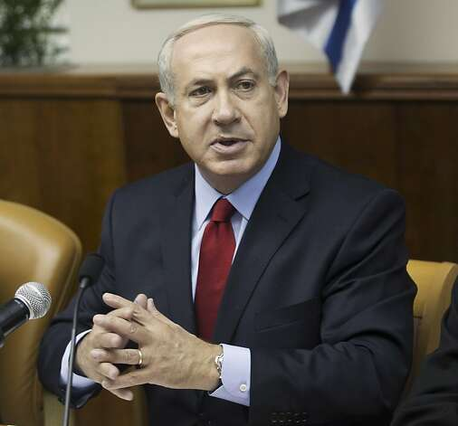 Benjamin Netanyahu will address the U.N. Photo: Menahem Kahana, Associated Press