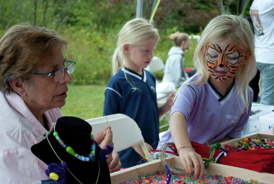 Were you seen at the Greenwich Audubon Hawk Festival on September 22? Photo: Lauren Stevens/ Hearst Media Group