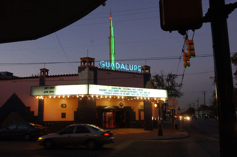 Two things have never changed about the Guadalupe Theater: its colorful, tiled facade and the building's role as the cultural anchor of its namesake street. Nov. 24, 2003. Photo: Express-News File Photo / SAN ANTONIO EXPRESS-NEWS