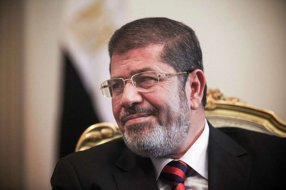Egyptian President Mohammed Morsi at the presidential palace in Cairo's Nasr City, Sept. 20, 2012. Morsi will travel to New York on Sunday for a meeting of the United Nations General Assembly. Photo: TARA TODRAS-WHITEHILL, New York Times / NYTNS