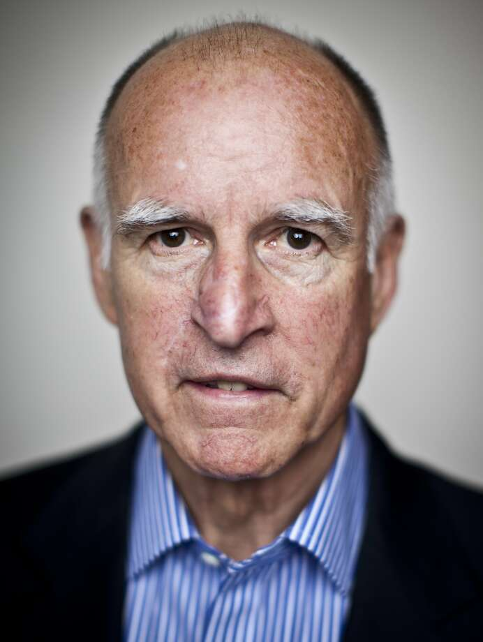 Gov. Jerry Brown and GOP rival Neel Kashkari hold their only debate Thursday night. Photo: Russell Yip, The Chronicle