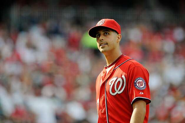 Nationals starter Gio Gonzalez became the majors' first 20-game winner of this season Saturday. Photo: Patrick McDermott, Getty Images