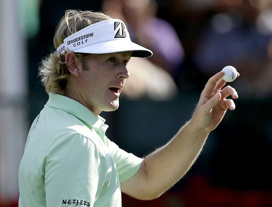 Brandt Snedeker can wrap up the richest payday in golf with a Tour Championship title Sunday. Photo: David Goldman, Associated Press