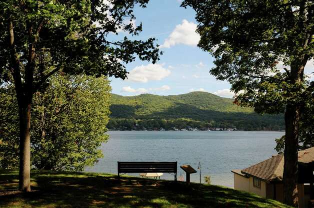 A view of  Lake George seen from Shepard Park on Thursday, Sept. 20, 2012  in Lake George, NY.  (Paul Buckowski / Times Union) Photo: Paul Buckowski