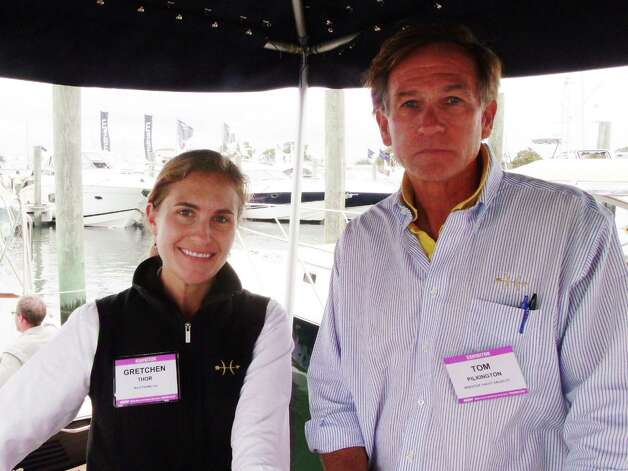 Were you seen at the Norwalk Boat Show Saturday? 9/22/2012 Photo: Todd Tracy / Connecticut Post