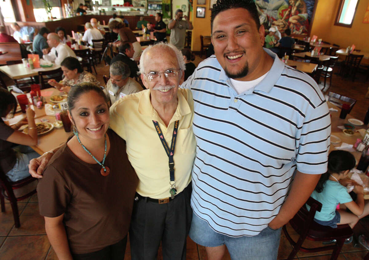 Olga Torres, Jerry Torres, and Jerry Torres III are among the family members that run Southtown's Taco Haven at 1032 S. Presa St.