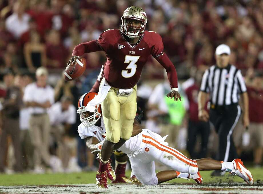 Florida State quarterback EJ Manuel was an elusive target for the Clemson defense. Photo: Streeter Lecka / 2012 Getty Images